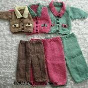 Collared Cardigan  Knitting Pattern #185 - via @Craftsy