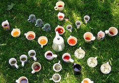 Tea star in the grass. Afternoon Tea, Tea Time, Grass, Tea Cups, Pottery, Deviantart, Star, Ceramica, Grasses