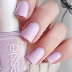 this soft cherry blossom pink essie 'go ginza' is an exquisite beauty.