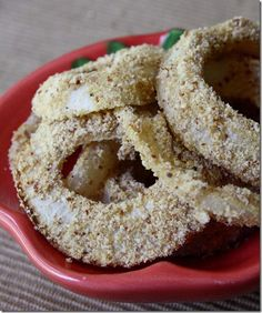 guilt-free, gluten-free onion rings made with original and salt & pepper #popchips.