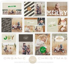 Organic Christmas Cards Collection | OhSnapBoutique