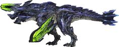 MH3U ~ official concept art of a Brachydios.