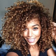 Cachos inspiradores | Oh my gosh I wish my curls would stay like this