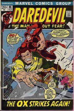 Cover for Daredevil (Marvel, April [Regular Edition] Marvel Girls, Marvel Heroes, Marvel Avengers, Marvel Comic Books, Comic Books Art, Comic Art, Comic Superheroes, Deathstroke, Comic Book Artists