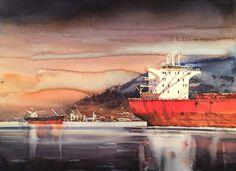 Vancouver harbour. Björn Bernström