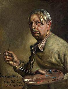 Chirico, Giorgio de (1888-1978) - 1950 Self-Portrait