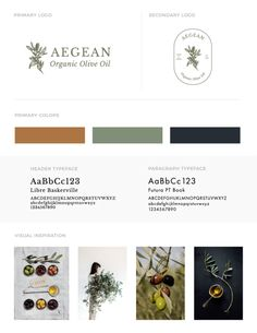 Sydney Jade Creative February 14, 2018 Aegean Organic Olive Oil. Brand identity + packaging for a small-batched organic olive oil from Greece.
