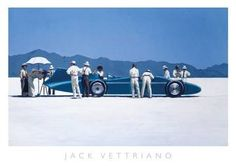 Jack Vettriano - Bluebird at Bonneville