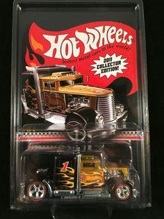 2011 Hot Wheels Collector Edition Kmart RLC CONVOY CUSTOM w/ PROTECTO #HotWheels #ConvoyCustom