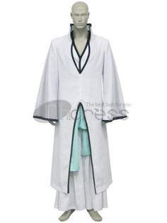 Bleach Cosplay-Bleach Ichimaru Gin Arrancar Cosplay Costume