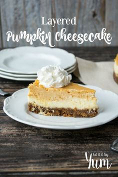 Several years ago, I was out to eat with my husband, at the Olive Garden (one of my favorite places), and we had some pumpkin cheesecake for dessert. It was good. I thought about that cheesecake f…