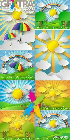 Best 10 Bright abstraction on paper style: sun, trees, golf umbrella, rain – SkillOfKing. Craft Activities, Preschool Crafts, Easy Crafts, Diy And Crafts, Crafts For Kids, Arts And Crafts, Paper Crafts, Class Decoration, School Decorations
