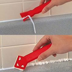 Cheap removing caulk, Buy Quality caulking tool directly from China caulk remover Suppliers: Professional Caulk Away Remover and Finisher Made by Builders Choice Tools Limited Bulider Tools Tile Caulk Cleaner Hand Tool Sets, Hand Tools, Caulk Removal Tool, Caulking Tips, Grout Remover, Cleaning Tile Floors, Construction Tools, Diy Home Repair, Tips & Tricks
