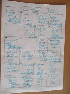 18. 5. 2017 - Prvouka - Živá příroda - opakování - metoda ALFA BOX – 1b2014kvetnak – album na Rajčeti Biology, Bullet Journal, Teaching, Box, Snare Drum, Education, Ap Biology, Onderwijs, Learning