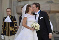 Princess Madeleine kiss