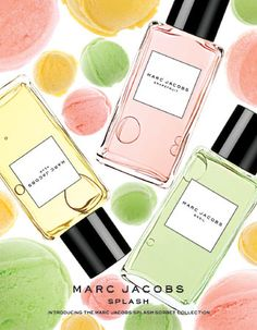 ‎Marc Jacobs Intl has introduced a new line of fragrances called 'Marc Jacobs Splashes', including fruity scents such as grapefruit and pear. We're curious - wüts ür fave fruity fragrance? Is it citrusy lime or grapefruit? Or is it fruity pomegranate or p Parfum Marc Jacobs, Britney Spears, Makeup Package, Perfume Reviews, Cosmetic Design, Pretty Pastel, Smell Good, Makeup Remover, Beauty Photography