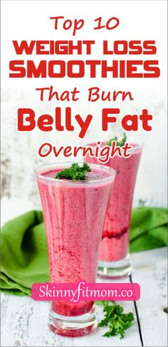 Whip up delicious delicacies with our recipe list of smoothies for weight loss. Full of essential nutrients, they are also perfect for snacking on to maintain a clean and healthy eating habit. Fat Burning Smoothies, Good Smoothies, Weight Loss Smoothies, Fast Weight Loss, Healthy Weight Loss, Healthy Fruits And Vegetables, Recipe List, Healthy Eating Habits, Burn Belly Fat