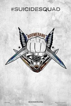 Suicide Squad Boomerang Poster