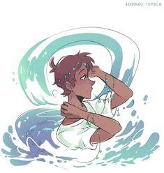 AU Water Spirit Lance  Voltron