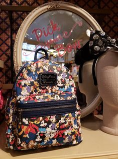 Coordinate with Matching Disney Loungefly Backpacks and Wallets