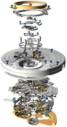 La Cote des Montres : La montre Zenith El Primero Tourbillon - Le seul tourbillon du marché à battre la haute fréquence
