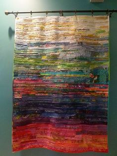 Beautiful Fiber Piece by Debra Spincic