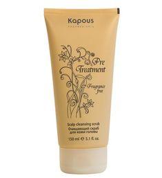 Очищающий скраб для кожи головы серии «Pre Treatment» Kapous, 150 мл.