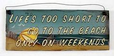 Life's Too Short to Go to the Beach Only on Weekends! #bagnivirginia #loano