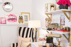 decoração-quarto-rosa-dourado-inspiração (6)