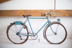 Found Vintage Rentals | #vintage #bicycle #blue #leather #studio #event #decor #retail #display #rentals #specialty