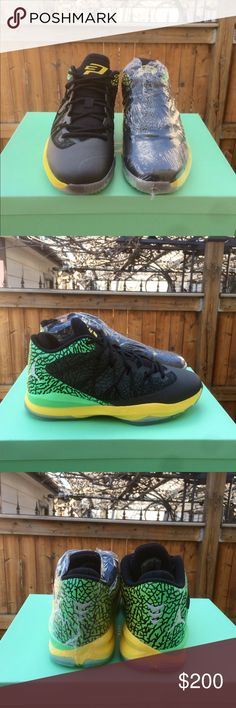 ea8dcd606aa Air Jordan CP3 Chris Paul Brazil Pack Nike Air Jordan CP3 Brazil Pack. Size  8.5