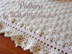 Trendy Crochet Baby Blanket Patterns