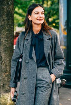 Fall dressing finery. Paris Fashion Week Spring 2015