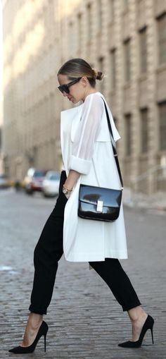 Duster coat to pull together your sophisticated look.