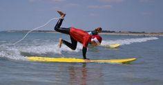 La glisse à Plouharnel, Ecole de surf de Bretagne, Plouharnel
