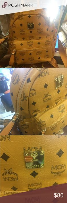 690833e9b78 Medium sized Mcm bookbag backpack Brand new. Final sale. MCM Bags Backpacks  Mcm Bookbag