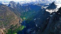 NORVÈGE: Trollveggen (the Troll Wall) in the Romsdalen valley, Norway - Photo: Pål S. Vindfallet/Making View/www.visitnorway.com