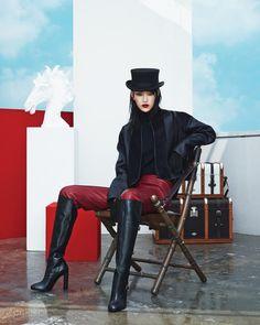 에르메스의 뉴 라이딩 룩 | Vogue.com