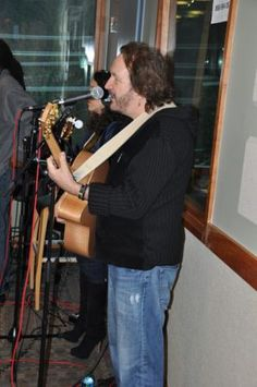 Kenny Loggins and the Blue Sky Riders In Studio