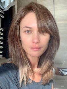Olga Kirilenko, Natural Hair Styles, Long Hair Styles, Natural Beauty, Olivia Wilde, Hollywood Actresses, Gorgeous Women, Hair Color, Beauty