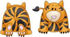 Silhouette Design Store - View Design #11860: zoo tiger