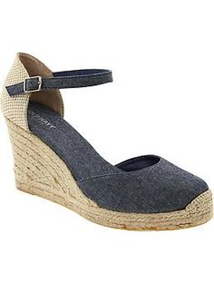 Chambray Espadrilles | Old Navy