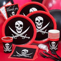 Pirate Party Supplies | Pirate Theme Party | Shindigz
