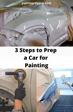 Car Painting, Spray Painting, Painting Tips, Garage Tools, Diy Garage, Custom Muscle Cars, Custom Cars, Delica D5, Car Spray Paint