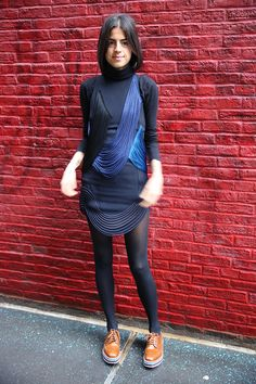 How To: Turn a Venerated Holiday Party Dress into Monday Workwear | Man Repeller