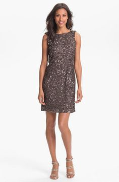 Pisarro Nights Drape Back Sequin Dress Pisarro Nights