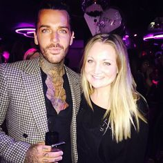 Catching up with #TOWIE's @p_wicks01 at @binkyfelstead's clothing launch #itsbinky #helookssomuchlikemyboyfriend