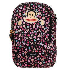 fa2a001b54 Só sei que esta mochila do Paul Frank vai fazer sucesso no seu colégio!  )