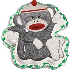 Kids Party Supplies: Sock Monkey Birthday Party