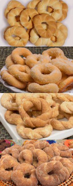 Donut Recipes, Cake Recipes, Dessert Recipes, Cooking Recipes, Portuguese Desserts, Portuguese Recipes, Croissants, Salty Foods, Recipes From Heaven